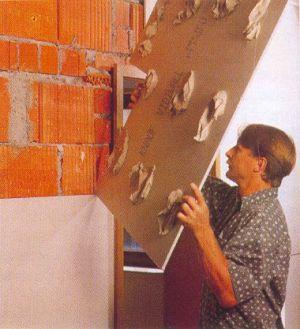 Сборка гипсокартонной стены