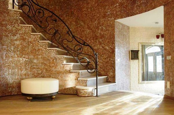 Следующим критерием, который будет определять красоты настенного покрытия, станет фактура обоев.