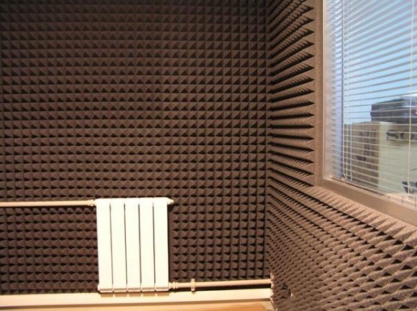 Стены шумоизоляция