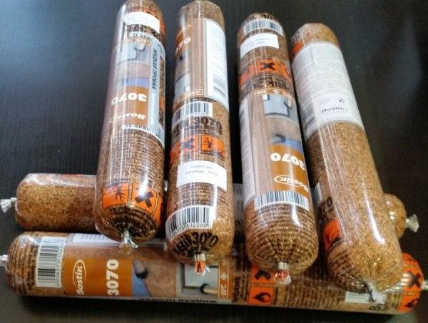 Сырьё для напыляемого покрытия. Натуральна пробка, разводится в специальном растворе, после чего распыляется на стены