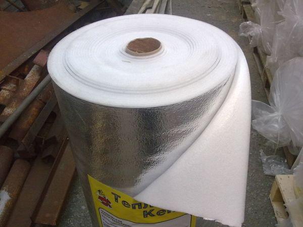 Теплоизолятор с отражающим слоем