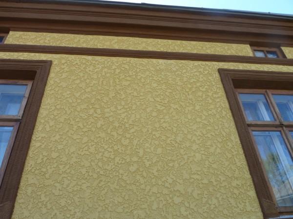 Цветная «шуба» для фасада