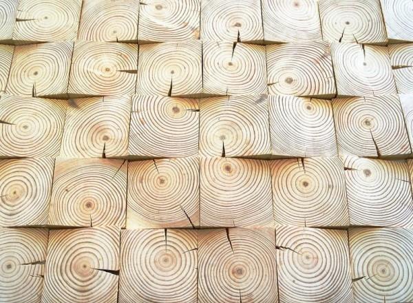 Укладка деревянной мозаики