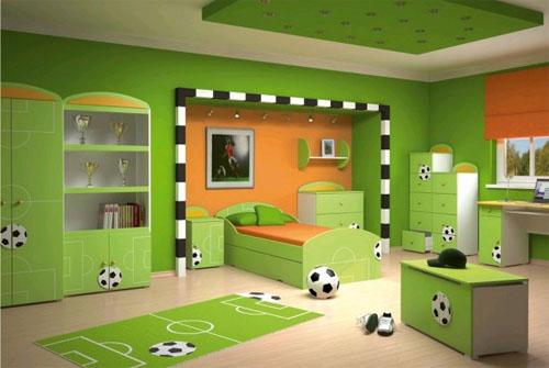 Выбор цвета кроватки в соответствии с интерьером детской комнаты