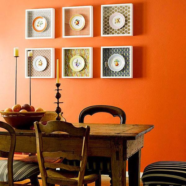 Идеи декорирования стен на кухне своими руками 88