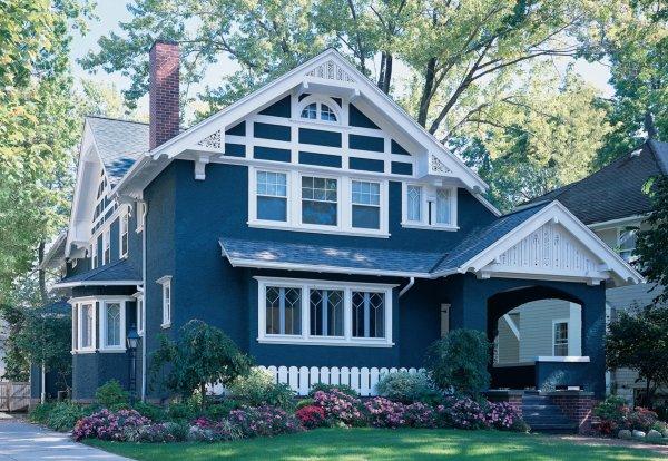 Чем покрасить оштукатуренный дом снаружи
