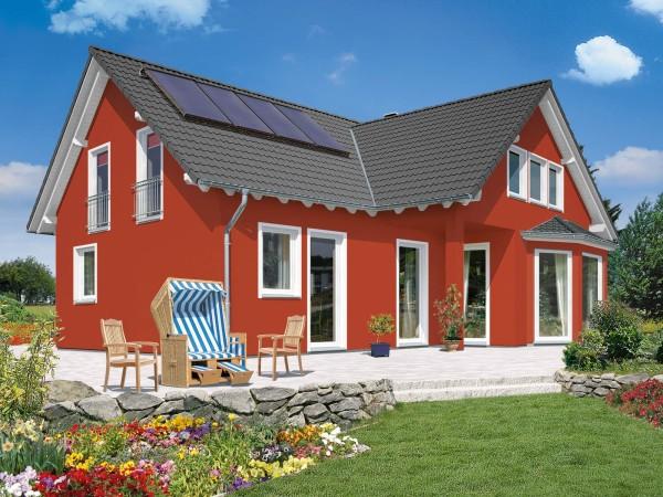 Дизайн каркасного дома с акрилатной краской