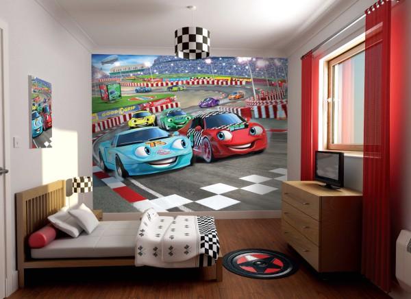 Для маленьких любителей автомобилей хорошо подойдут сюжеты и персонажи из мультфильма «тачки», красочные и весёлые, они обязательно понравятся малышу