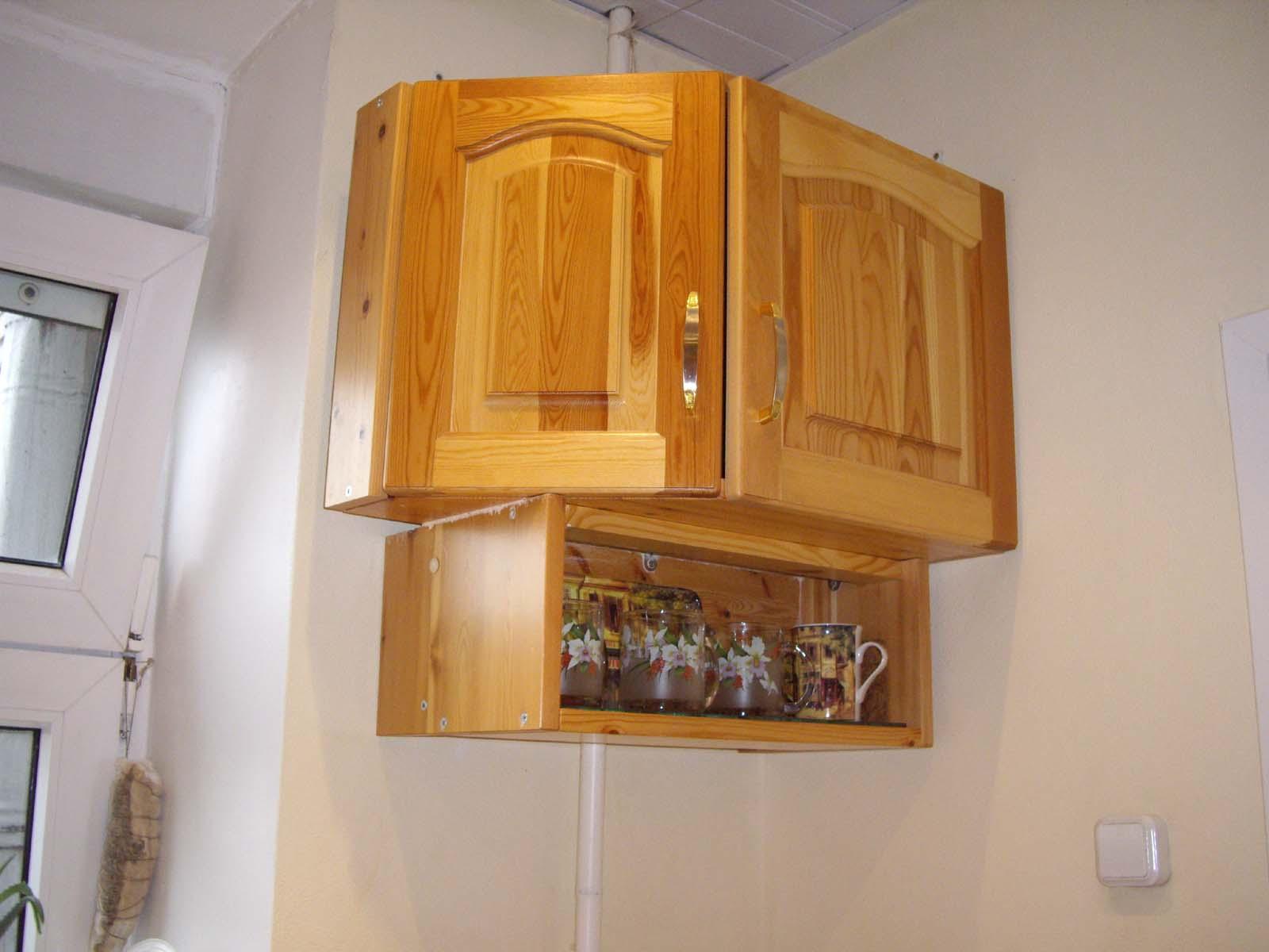 Кухонный шкаф своими руками (53 фото как сделать шкафчики на кухню) 17