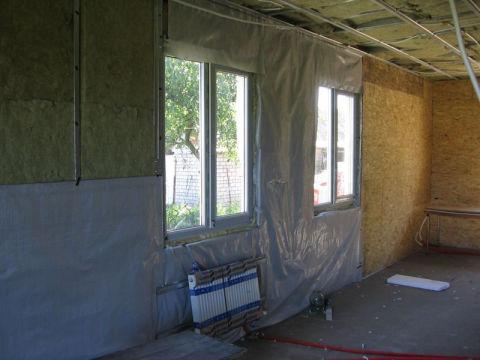 Как утеплить изнутри стены деревянного дома