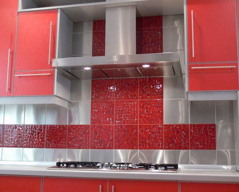 Кафельная плитка в кухне дизайн