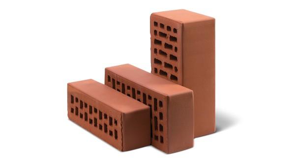 Кирпичи из керамики неотличимы от других видов кирпича