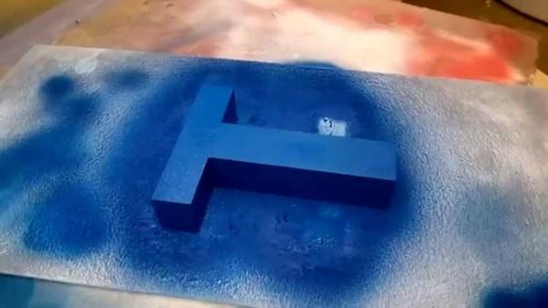 Краска для пенопласта