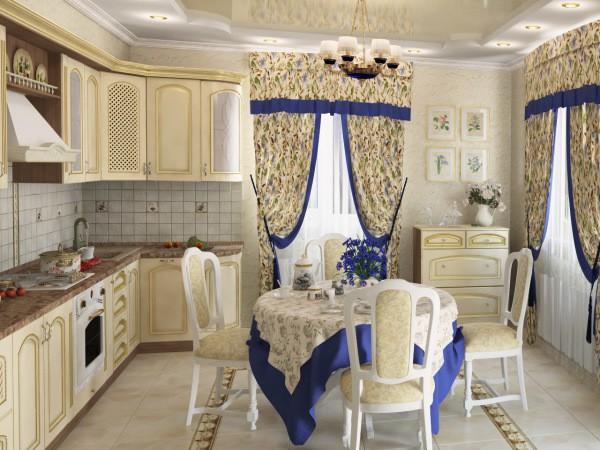 Кухня в стиле прованс, которую можно создать в самой обычной типовой квартире