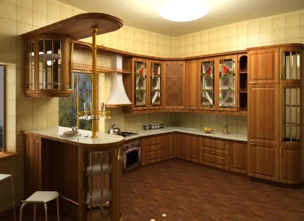 Мдф панели на кухне