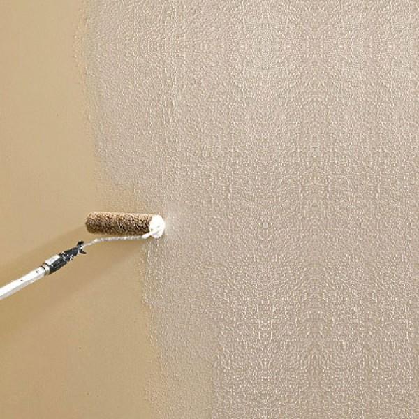Фактурная краска для стен своими руками видео 271