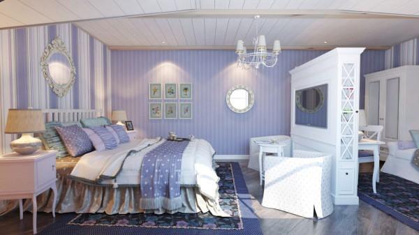 Мягкие пастельные тона – отличительная черта стилистики прованс