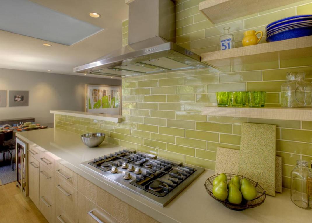 Дизайн кухни и фартук