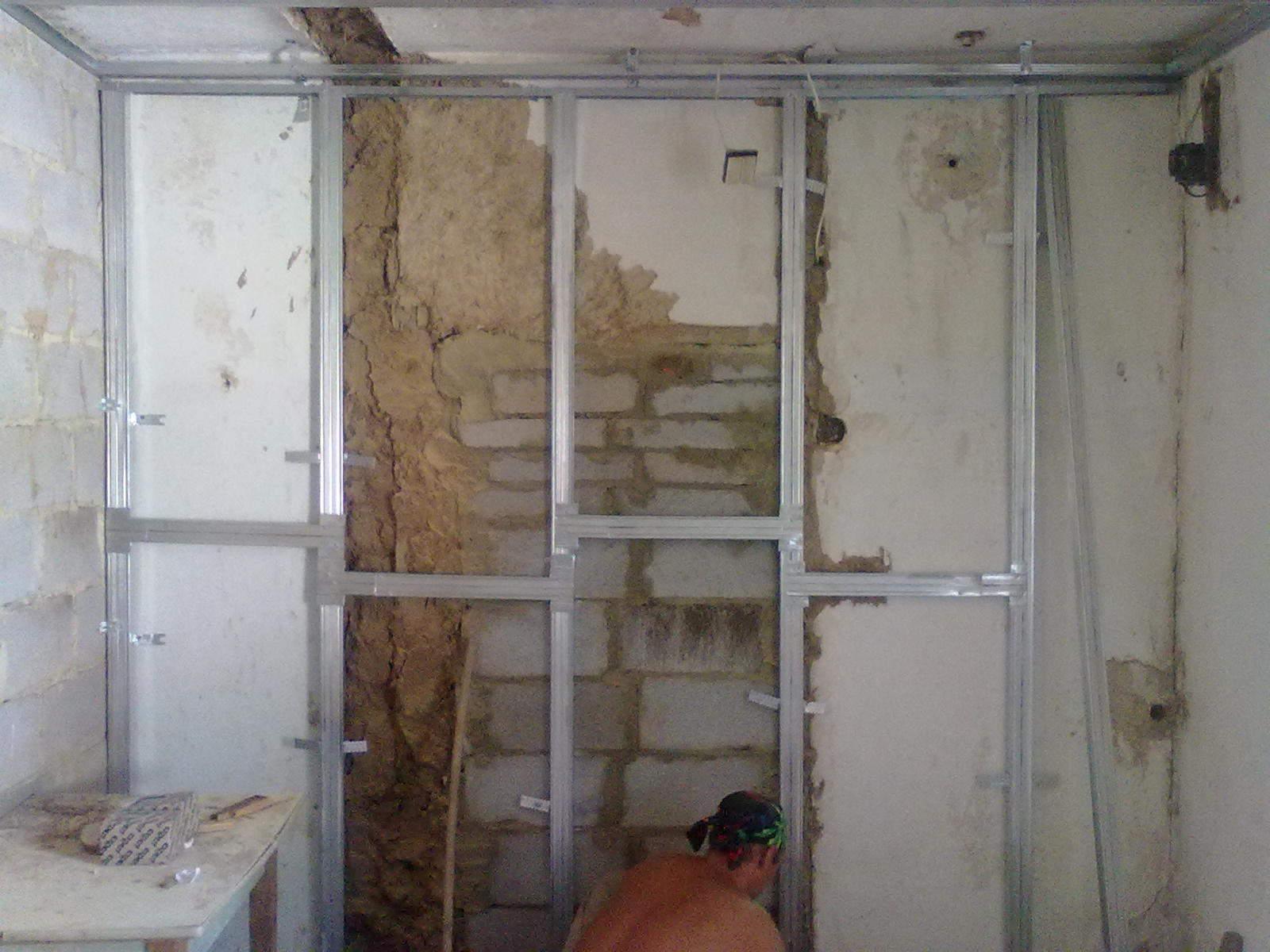 Как правильно сделать стены гипсокартоном