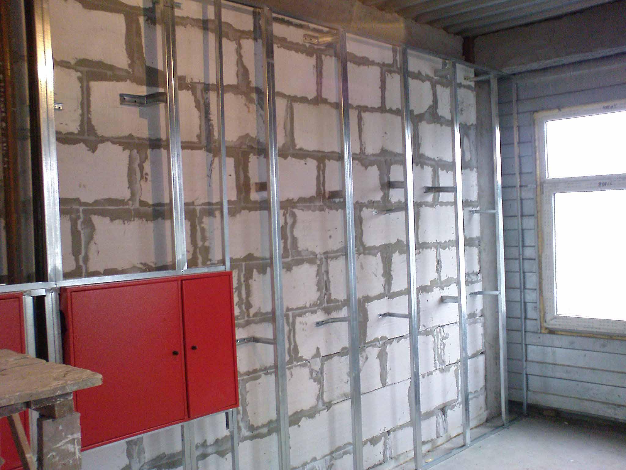 Как выровнять стены гипсокартоном: поэтапная инструкция otde.