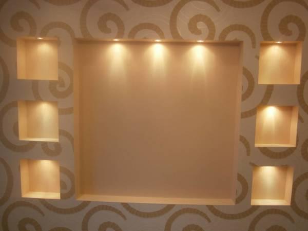 Независимо от способа монтажа гипсокартонных листов на стены, вы получите ровную поверхность, на которой можно фантазировать дальше