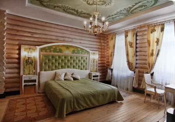 Панели блок-хаус, имитирующие натуральное, оцилиндрованное бревно