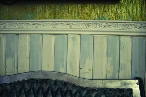 Панели, стилизованные под старину