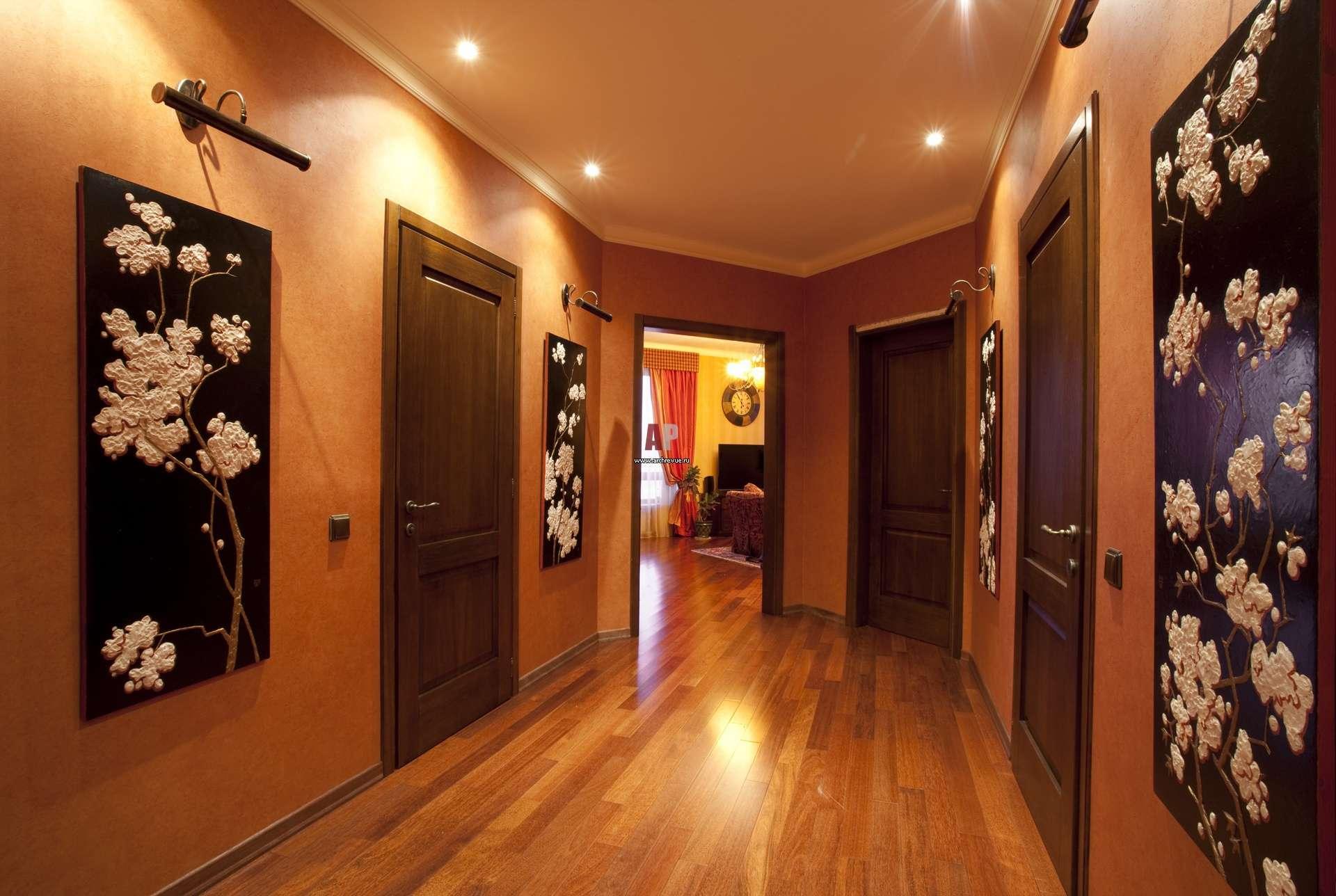 Обои для прихожей и коридора фото идеи для квартиры 2016