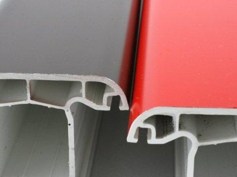 Примеры окрашенных пластиковых подоконников