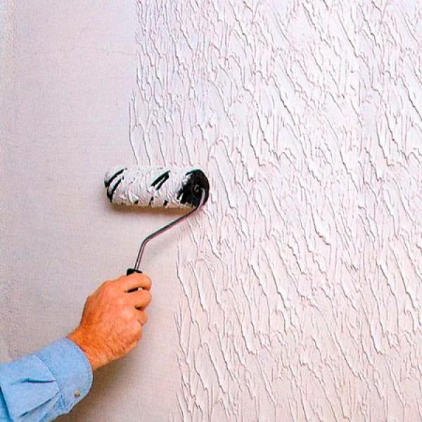 Фактурная штукатурка для стен своими руками