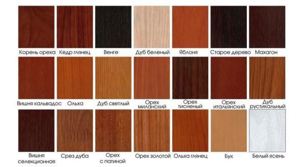 Широкая цветовая гамма панелей мдф имитирующих натуральное дерево. Подходящий цвет можно подобрать под любую дизайнерскую концепцию