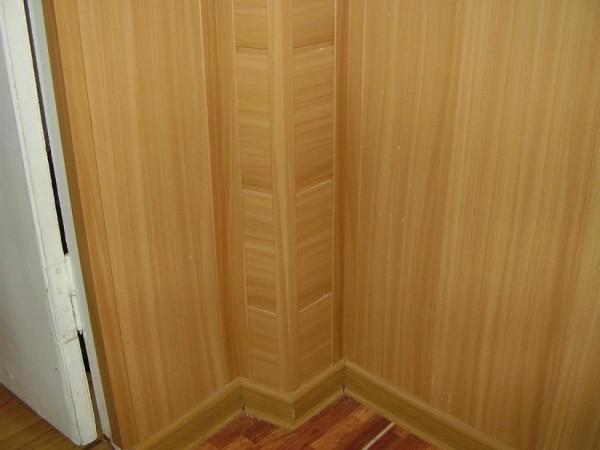 Стена, отделанная мдф панелями