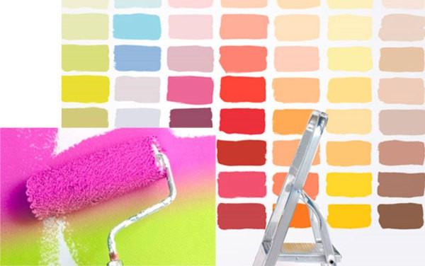 Типы красок для стен