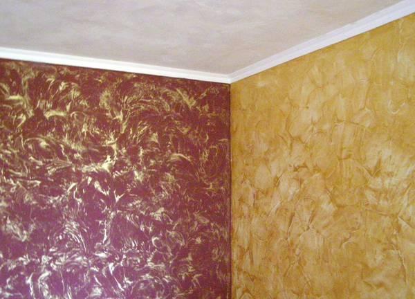 Венецианская краска для стен