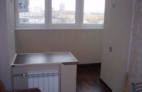 Совмещаем балкон с комнатой