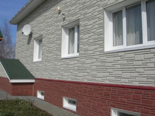 Стена жилого дома