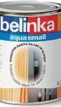 Белинка – эмаль на водной основе