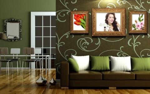 Чем отделать стены в гостиной