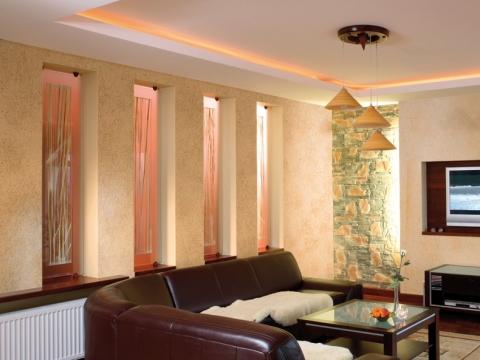 Декорирование стен в помещении