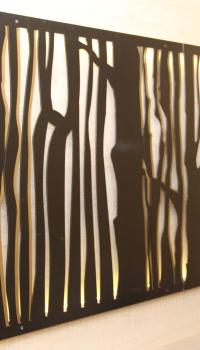 Деревянное панно своими руками может быть самым простым, но все же оригинальным