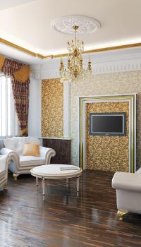 Классический стиль оформления гостиной Классический стиль оформления гостиной