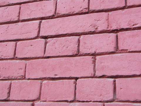 Краска для фасада розового цвета