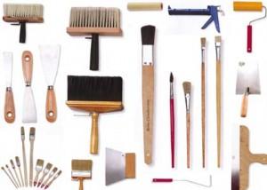 Набор инструментов для покраски
