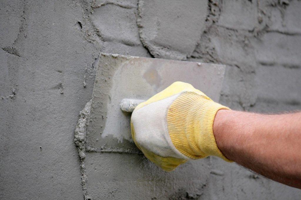 Штукатурка цементная стен 118