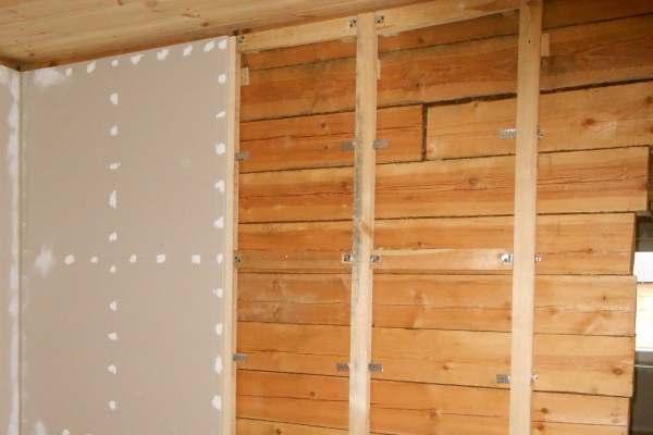 Отделка стен своими руками в деревянном доме 17