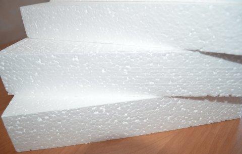 Очень лёгкий материал пенопласт, хорошо держит тепло