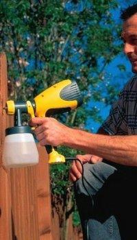 Окрашивание деревянной поверхности