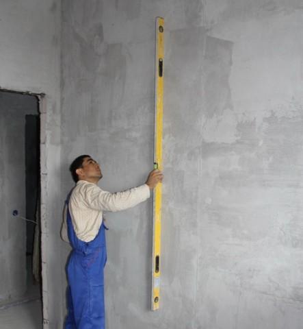 Оценка ровности стены