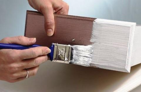 С такой краской очень легко работать