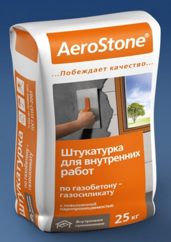 Штукатурная смесь на известково-цементном вяжущем